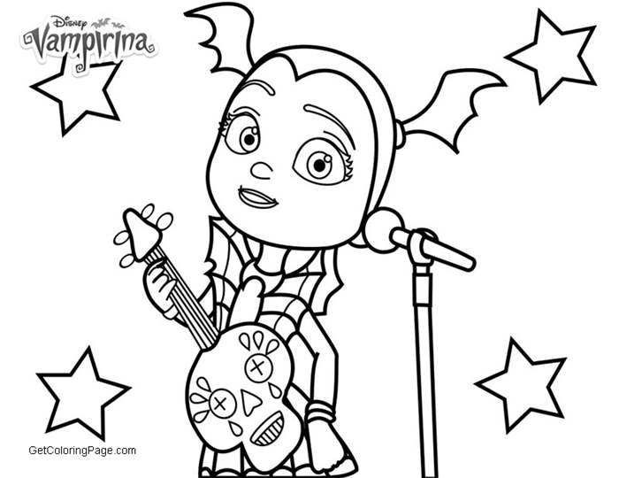 Vampirina Coloring Pages Get Coloring Page Disney Coloring Pages Coloring Pages For Girls Coloring Pages