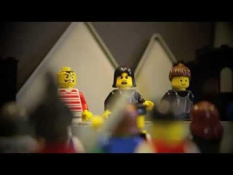 4. LEGO-pääsiäistarina Jeesus tuomitaan