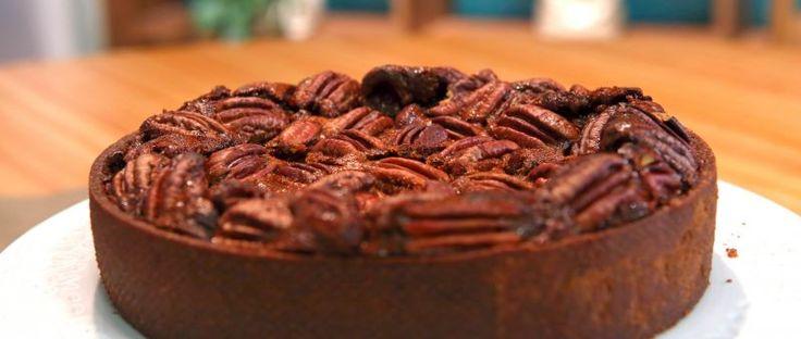 Choco Pecan Pie