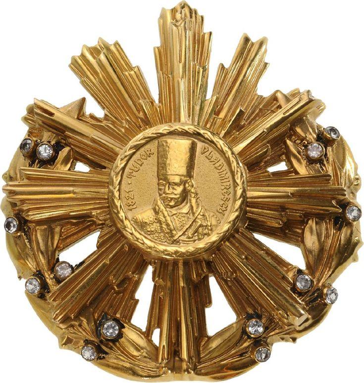 "ROMANIA (RSR) - ORDER OF ""TUDOR VLADIMIRESCU"""