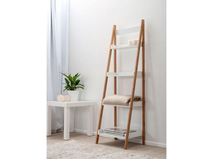 Mocka Maya Ladder Shelf with Geo Table