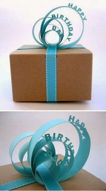 Happy Birthday Pop Up Ribbon. whhooaaa i think that g'ma should see this...