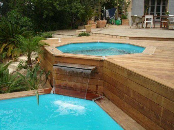 comment faire le piscine hors sol en bois dans notre jardin et gagner d 39 espace trouvez des. Black Bedroom Furniture Sets. Home Design Ideas