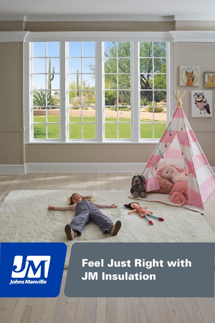 JM insulation helps your home stay cool in the summer so