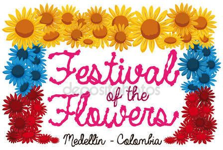 Patriotic Flowers to Commemorate Colombian Festival of the Flowers