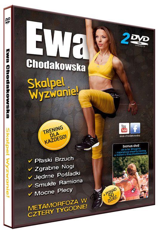 Ewa Chodakowska SKALPEL WYZWANIE 2 PŁYTY DVD - NOWOŚĆ