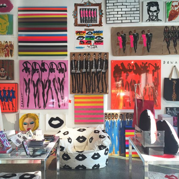 Fashion's Favorite Illustrator Donald Robertson Opens An NYC Pop-Up Shop