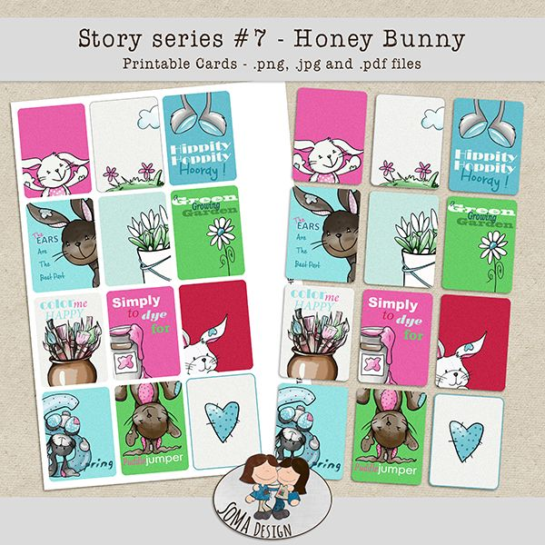 SoMa Design: Honey Bunny Cards