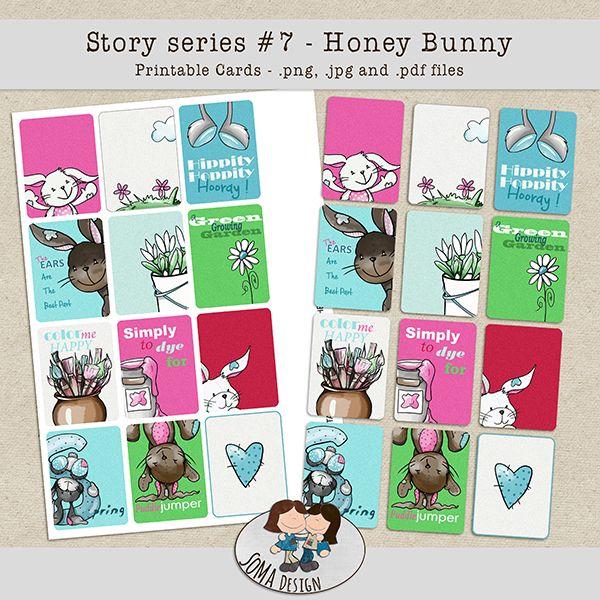 SoMa Design: Honey Bunny Cards