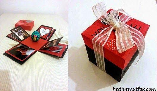explosion box ( patlayan kutu ) sevgiliye el yapımı fotoğraf albümü .... satıldığı sayfaya gitmek için linke tıklayın... http://www.hediyemutfak.com/2014/11/sevgiliye-el-yapimi-fotograf-albumu.html