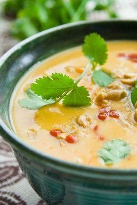 Sweet potato and peanut soup | #glutenfree #vegan |  Healthy Seasonal Recipes /healthyseasonal/