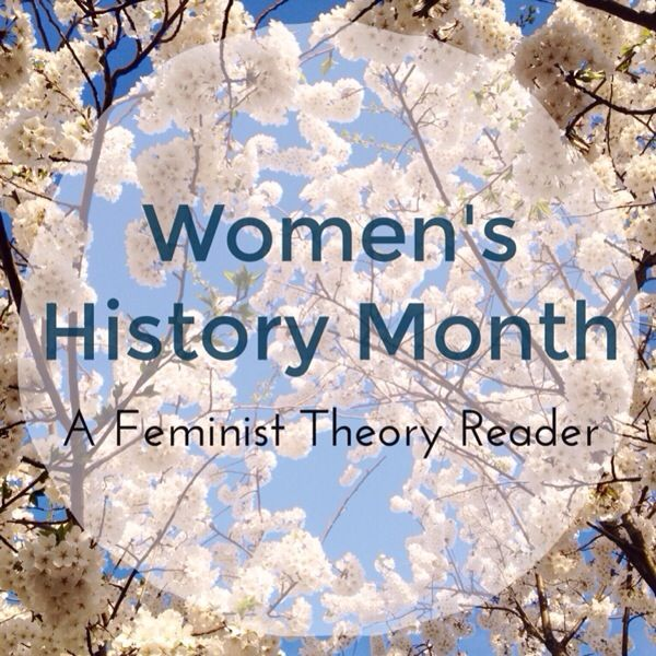 Women's History Month | Feminist Theory Reader | rukristin papercrafts