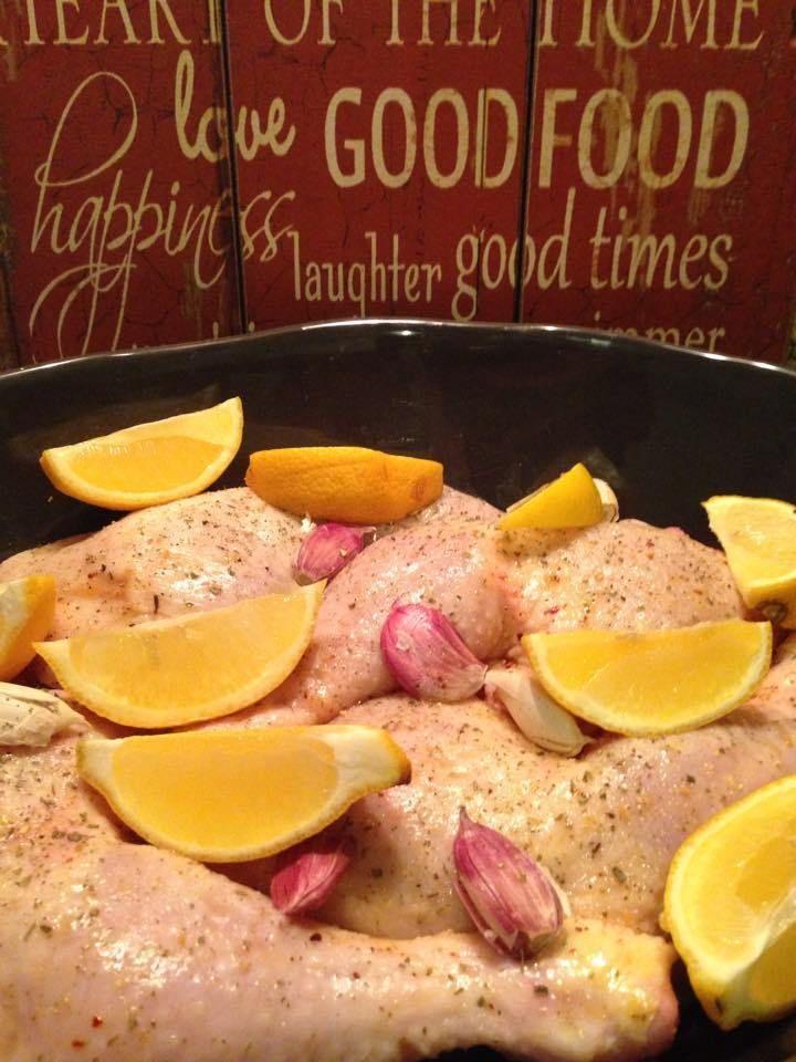 Paleo Zitronen Hähnchen