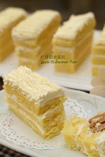 柠檬奶油蛋糕 Lemon Buttercream Cake