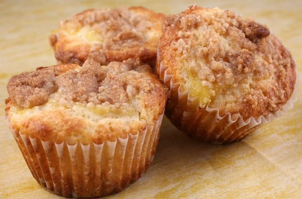 Pineapple Muffins.  These are a fresh and wonderful breakfast muffin. The pineapple is not overwhelming... it adds a wonderful, sweet flavor with a delicious crumbly topping too.