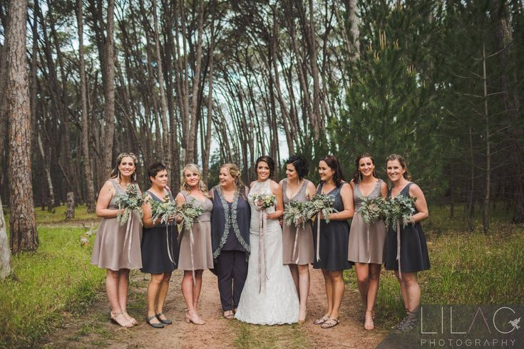 Forest Weddings  Beautiful wedding party Same sex weddings Wedding venue in Cape Town close to Stellenbosch Sunset wedding photography Ido @ WineryRoadForest
