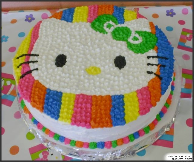 188 best Cakes Hello Kitty images on Pinterest Birthdays Hello