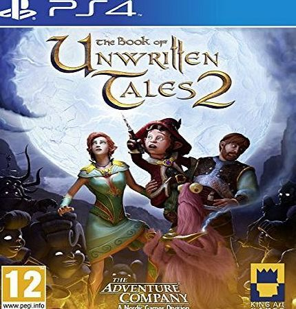 Nordic Games Book of Unwritten Tales 2 (PS4) No description (Barcode EAN = 9006113008101). http://www.comparestoreprices.co.uk/latest2/nordic-games-book-of-unwritten-tales-2-ps4-.asp