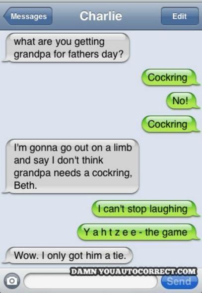 Damn You Auto Correct Founder Picks 12 Funniest Texts Ever