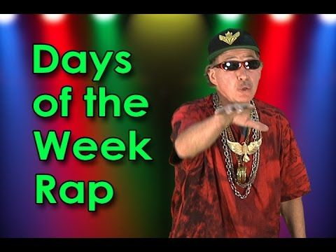 Days of the Week Song   Day of the Week Rap Back   Educational Songs   Jack Hartmann - YouTube
