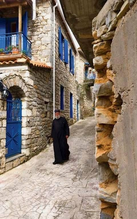 Kardamyle village, Messenia (Peloponnese), Greece