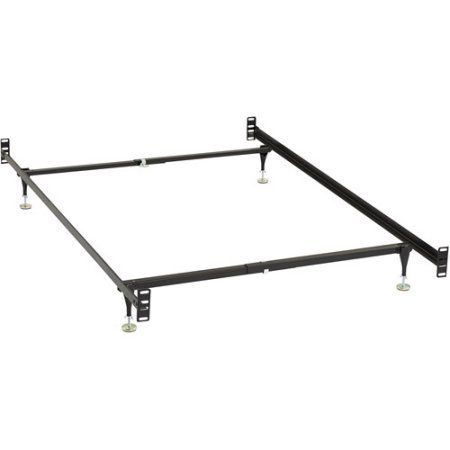 Bivona & Company Twin/Full Metal Bed Frame with Headboard and Footboard Conversion Kit