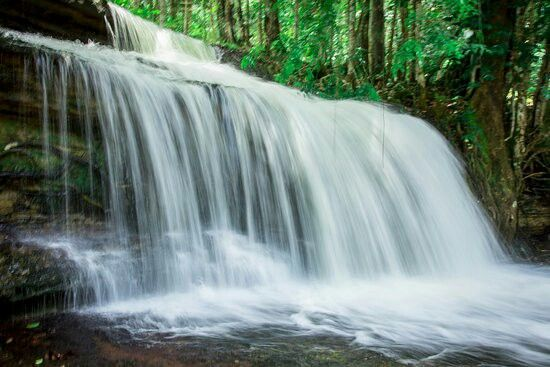 Cachoeira Asframa em Presidente Figueiredo, no Estado do Amazonas.