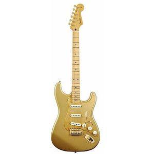 gold guitar