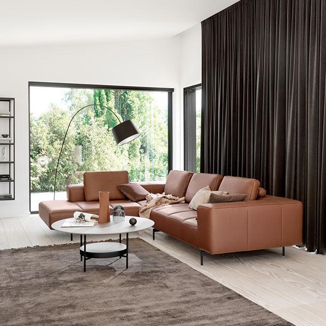 Make A Statement In Your Living Room Boconcept Sofa Living Livingroom Interior Home Homedecor Interiordecor Luksus