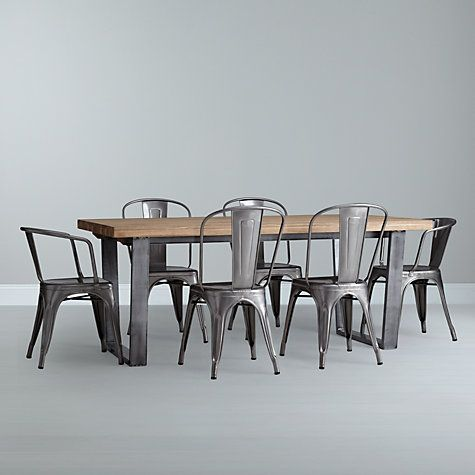 Calia living dining room furniture 8 seater dining for Dining room john lewis