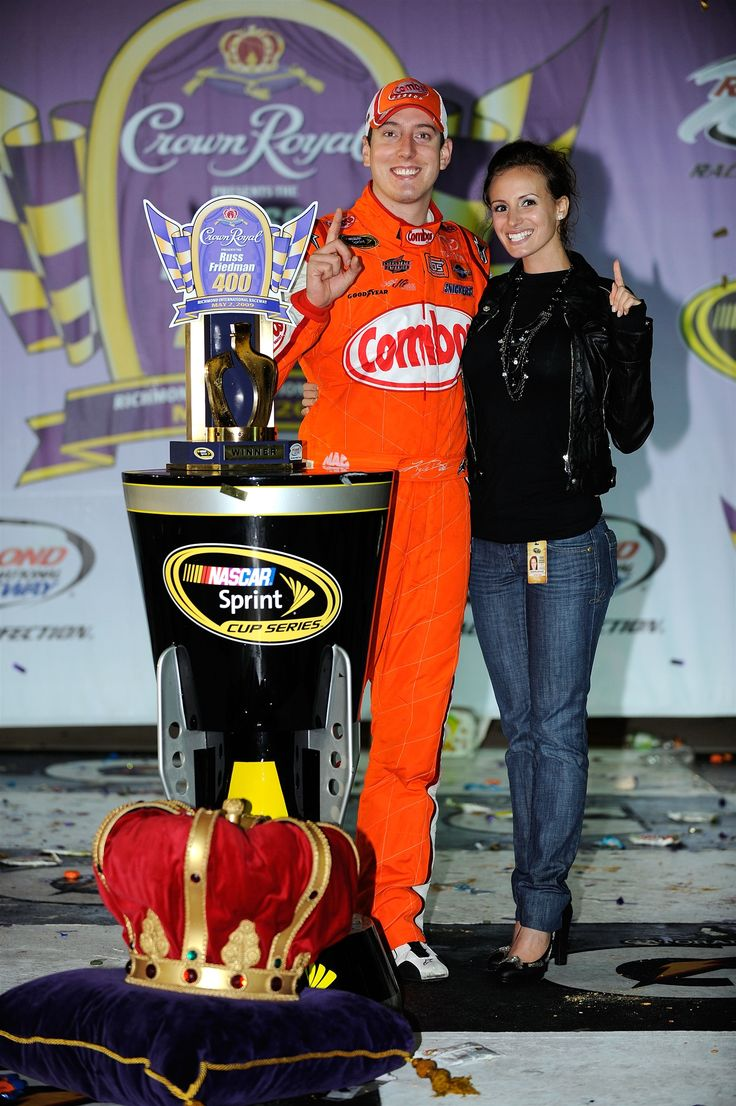 All of Kyle Busch's Sprint Cup Series victories Sunday, April 3, 2016 15. Crown Royal Presents the Russ Friedman 400 Richmond International Raceway May 2, 2009  Busch and Samantha (the pair married in 2010) pose in Victory Lane at the .75-mile track.