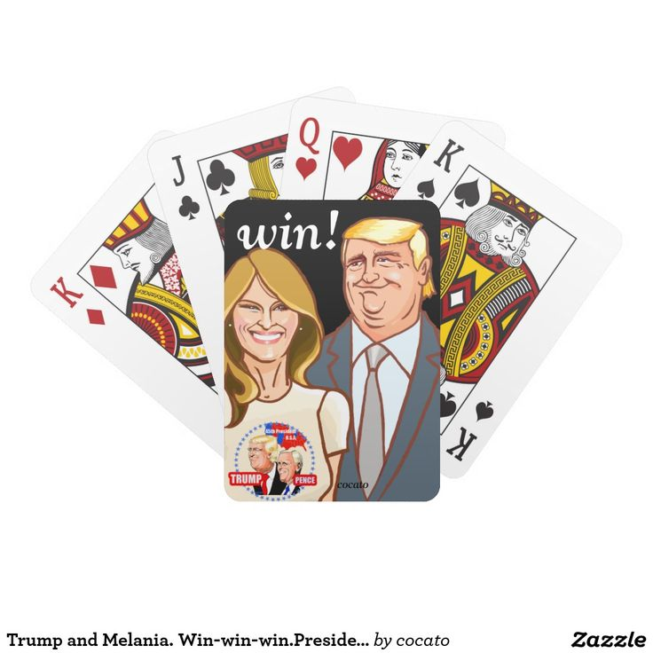 Trump and Melania. Win-win-win.President トランプ