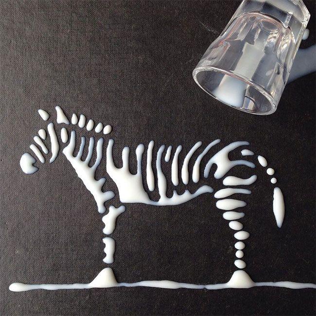 Stunning Artworks Made from Liquids – Fubiz Media