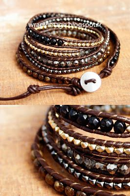 Rocher ~ Bracelet WrapVintage ,Wv,