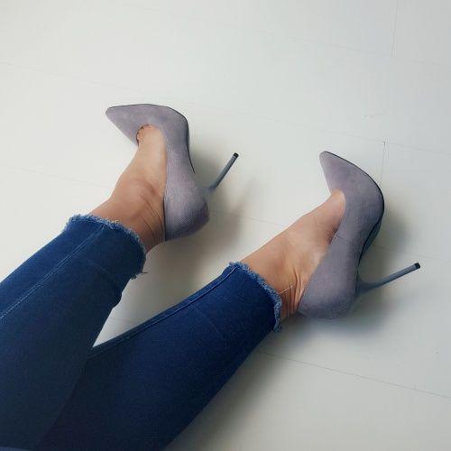 fashionstatementsbyq highheels gray publicdesire  #higheels #gray #zara #outfit #ootd #fashionblogger #blog #blogger #fashion