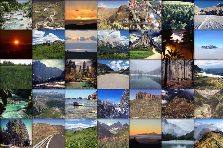 Huge Nature images pack. 50+ images! by PremiumCoding on Creative Market