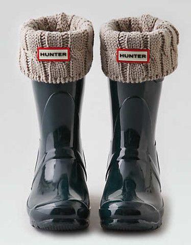 Hunter Short Boot Sock , Natural