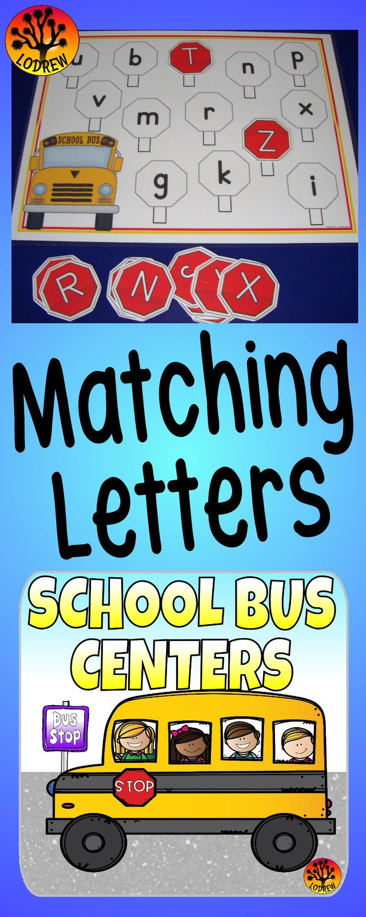 158 pages of school bus centers. Activities include beginning sounds, letter matching, color words, letter order, counting, tracing, ten frames, subitizing, shapes, scissor skills, cardinality, number sets, fine motor, literacy, math, and more. For kindergarten, preschool, SPED, child care, homeschool, or any early childhood setting.