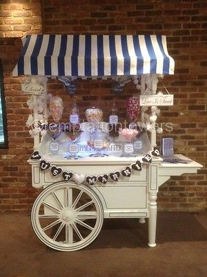 Candy Cart, Sweet Cart Hire (only) Kent UK ONLY in Home, Furniture & DIY, Wedding Supplies, Other Wedding Supplies | eBay