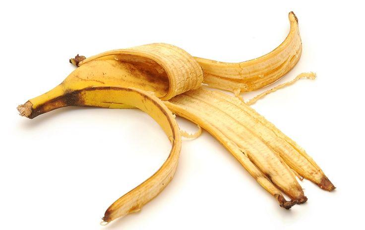 6 façons de réutiliser une peau de banane