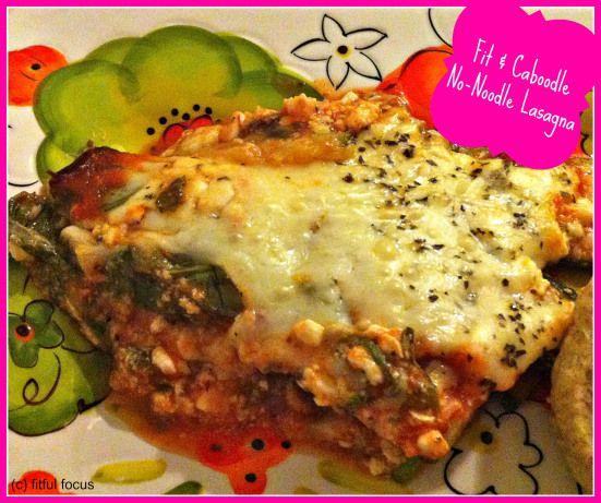No-Noodle Lasagna