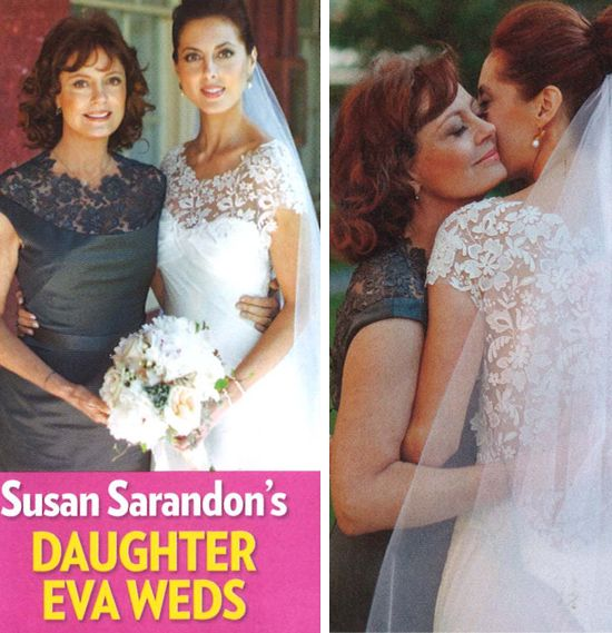 This just in! Lela Rose gown on Susan Sarandon's daughter ...