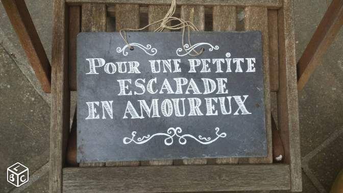 Ardoise cagnotte voyage décoration mariage Décoration Finistère - leboncoin.fr