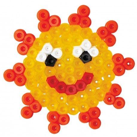 Witajcie w poniedziałek:)  Zaczynamy od słoneczka, świeci:)  Nasze trzeba ułożyć i zaprasować:)  Zestaw Hama 4166 - ok 450 Koralików Hama Midi 5 mm Mały Blister Słoneczko dla Dzieci od lat 5.   Czy zestaw pozwala na wykonanie również kwiatuszka oraz główki myszki?  Sprawdźcie sami:)  Pomoc rodziców obowiązkowa!  http://www.niczchin.pl/koraliki-hama-midi/1532-hama-4166-hama-midi-maly-blister-sloneczko.html  #hama #koraliki #midi #niczchin #zabawki #krakow