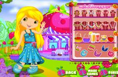 Juegos de Fresita.com - Juego: Cutest Strawberry Dress Up Gratis Online - Rosita Fresita Frutillita Tarta de Fresa