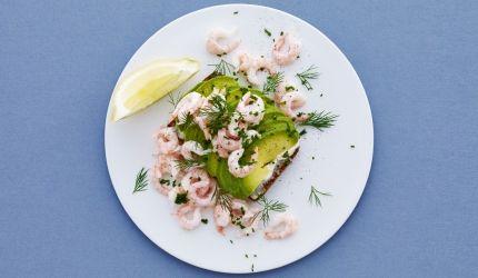 250 kalorier: Avocadomad med rejer | I FORM
