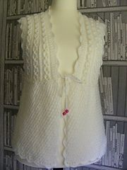 Ravelry: Modesty Vest Top pattern by maybebaby designs