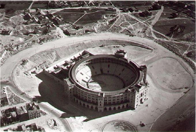 Plaza de toros de las Ventas, Madrid, 1934.