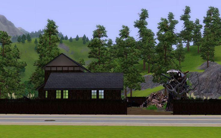 "Mod The Sims - Japanese style workplace ""Junkyard"""