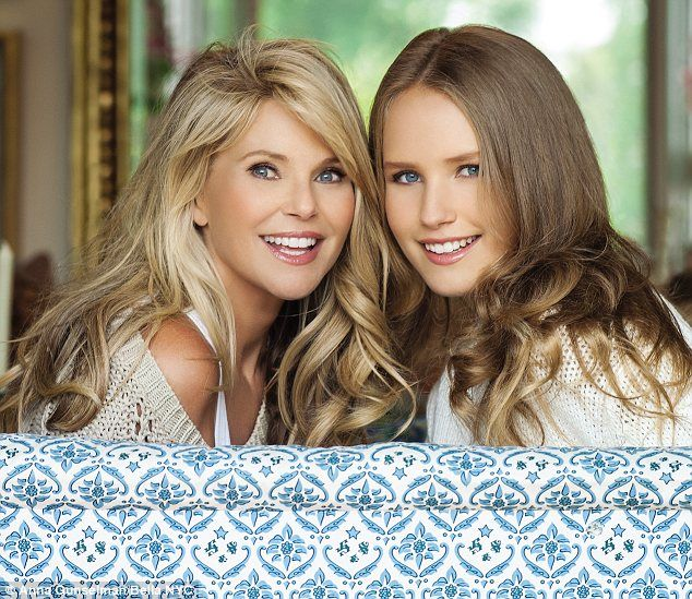 Christie Brinkley and her daughter Sailor #GotItFromMyMama